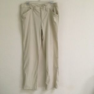 Eddie Bauer nylon roll up outdoor pants 10